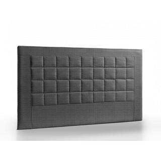 Tête de lit matelassée haut de gamme APOLLO 145cm cuir recyclé BONDED