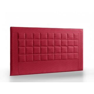 Tête de lit matelassée haut de gamme APOLLO 95cm cuir recyclé BONDED