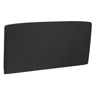 Tête de lit  capitonnée EPEDA tissu chiné graphite