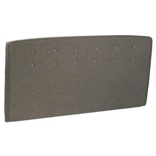Tête de lit  capitonnée EPEDA tissu chiné marron