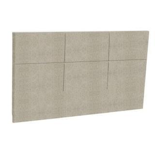 Tête de lit  chic EPEDA tissu armuré beige naturel