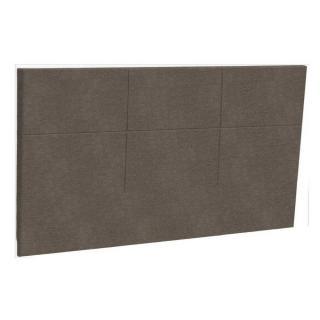 Tête de lit  chic EPEDA tissu piqué châtaigne