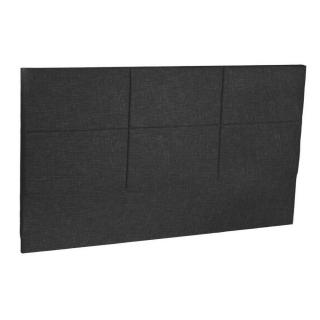 Tête de lit  chic EPEDA tissu chiné graphite