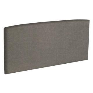 Tête de lit  galbée EPEDA tissu chiné marron