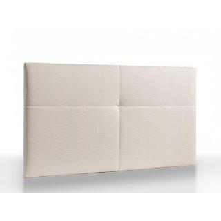 Tête de lit capitonnée haut de gamme RITZ 165 cm cuir recyclé BONDED