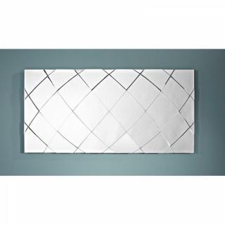 TRACKS Miroir mural design en verre (grand modèle)