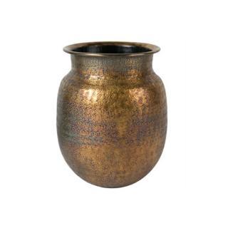 Vase BAHA style ethnique chic en laiton