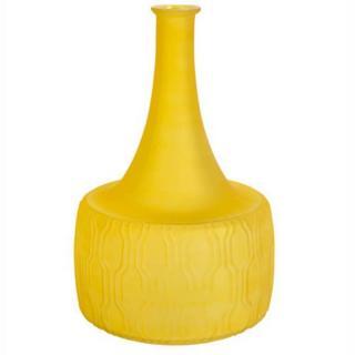 ZUIVER Vase FIELD flower moutarde