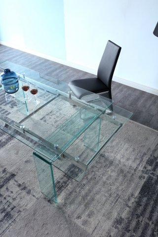 Extensible Meilleur Tables PrixTable Au Design Vitro 160cm wkPuiOXZTl