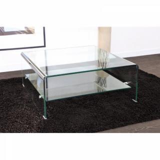 Table basse carrée ronde ou rectangulaire au meilleur prix WAVE
