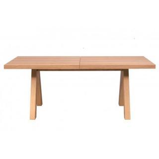 TemaHome APEX table de repas extensible 200 x 100 cm en chêne