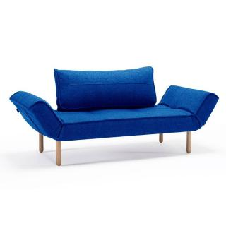 Canape design ZEAL STEM Velvet Royal Blue convertible lit 200*70 cm